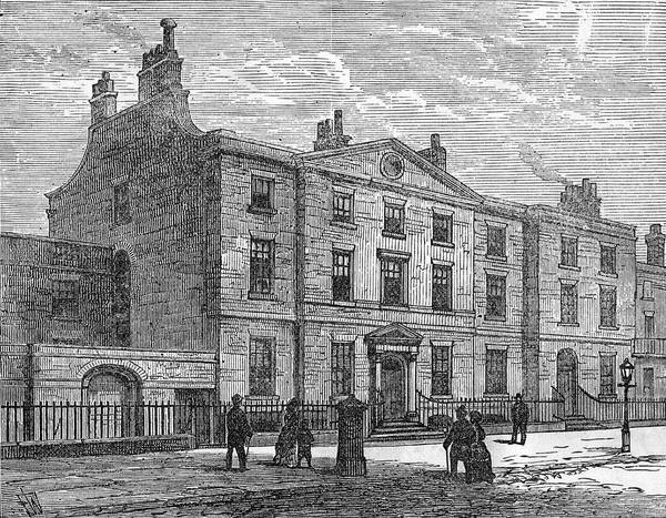 Gladstone Wall Art - Drawing - William Ewart Gladstone  House by Mary Evans Picture Library