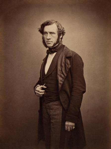 Sir Photograph - William Grove by Royal Institution Of Great Britain / Science Photo Library
