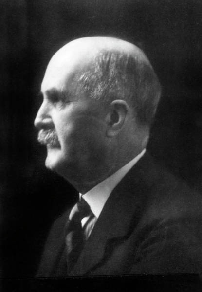 Nobel Prize Winners Wall Art - Photograph - William Henry Bragg by Aip Emilio Segre Visual Archives, Physics Today Collection