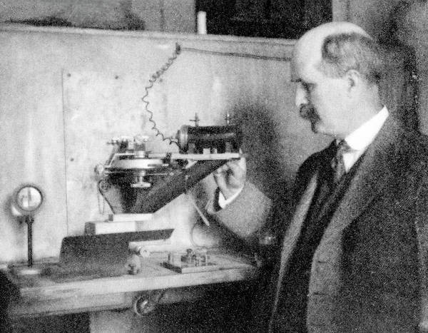 Nobel Prize Winners Wall Art - Photograph - William Henry Bragg by Photo By Ed Hoppe, Cambridge University Press, Courtesy Aip Emilio Segre Visual Archives, Physics Today Collection