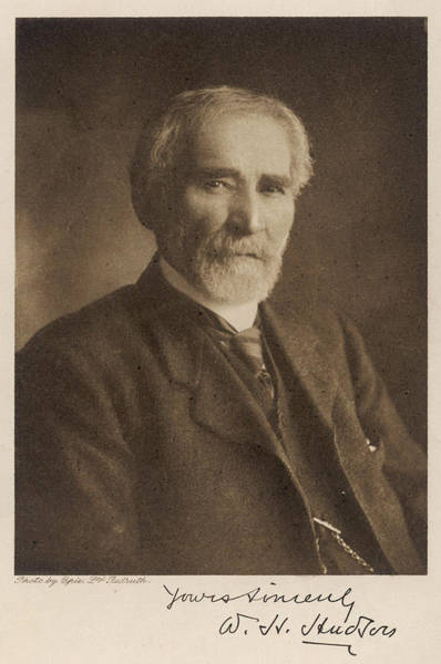 William And Mary Photograph - William Henry Hudson  Naturalist by Mary Evans Picture Library