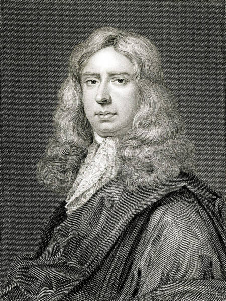 1715 Drawing - William Hewer  Commissioner by Mary Evans Picture Library