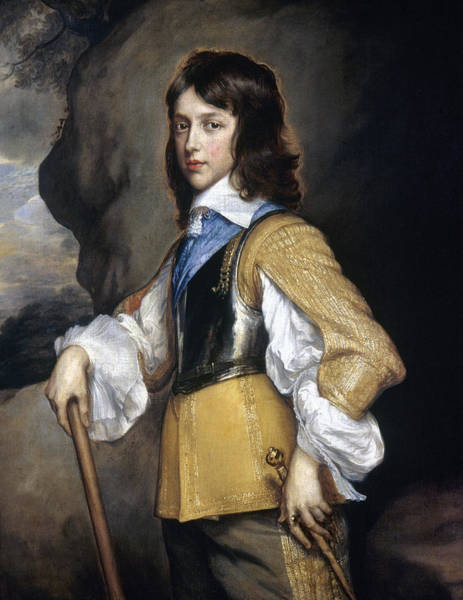 Adolescent Painting - William II (1626-1650) by Granger