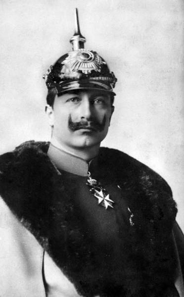 Photograph - William II Of Germany (1859-1941) by Granger
