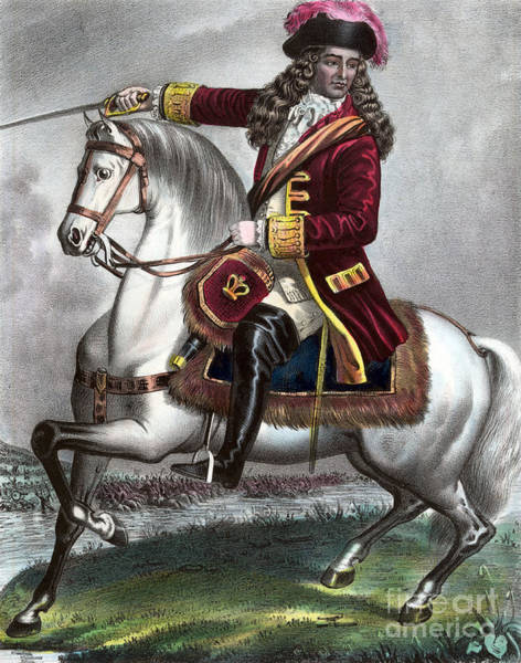 Photograph - William IIi Prince Of Orange 1690 by Photo Researchers