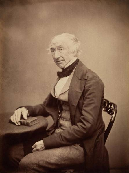 Sir Photograph - William Jackson Hooker by Royal Institution Of Great Britain / Science Photo Library