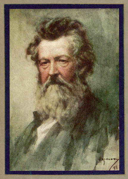 Wall Art - Drawing - William Morris  English Poet And Artist by Mary Evans Picture Library