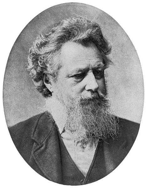 Wall Art - Photograph - William Morris  English Writer, Artist by Mary Evans Picture Library