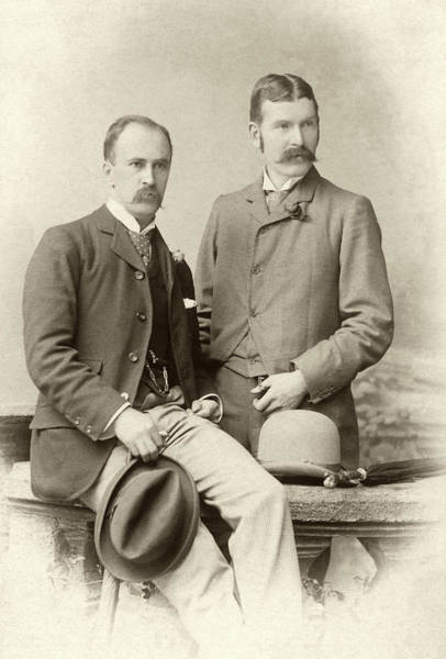 Wall Art - Photograph - William Osler And Ramsay Wright by National Library Of Medicine
