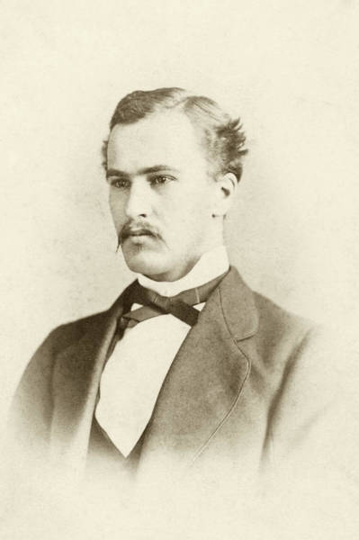Pioneer School Photograph - William Osler As A Medical Student by National Library Of Medicine