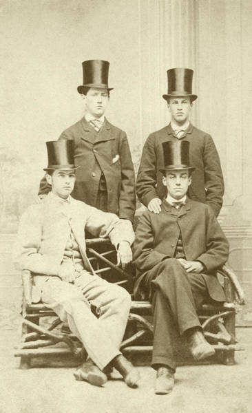 Weston Photograph - William Osler As A School Prefect by National Library Of Medicine