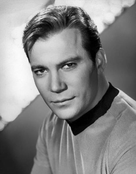 Film Star Photograph - William Shatner by Mountain Dreams