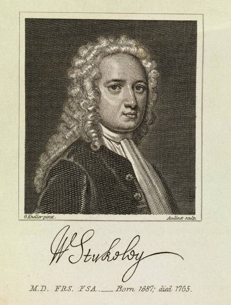Wall Art - Photograph - William Stukeley by Middle Temple Library