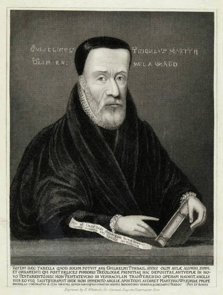 Wall Art - Drawing - William Tyndale (1494? - 1536) English by Mary Evans Picture Library