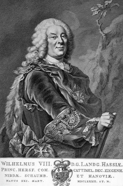 Wall Art - Drawing - William Viii, Landgrave Of Hesse-kassel by Mary Evans Picture Library