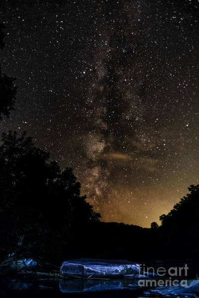Trout Stream Photograph - Williams River Milky Way by Thomas R Fletcher