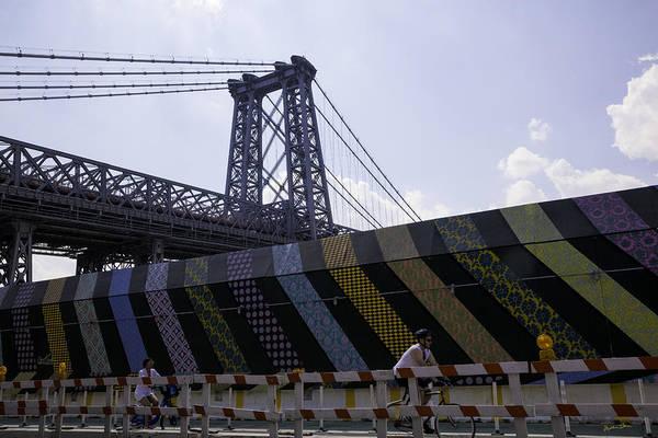 Williamsburg Bridge Photograph - Williamsburg Bridge - Brooklyn - New York by Madeline Ellis