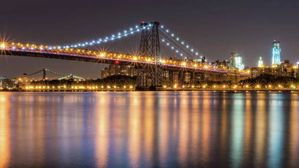 Williamsburg Photograph - Williamsburg Bridge by Michael Orso