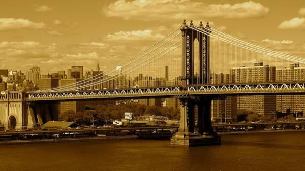 Williamsburg Bridge New York City Art Print