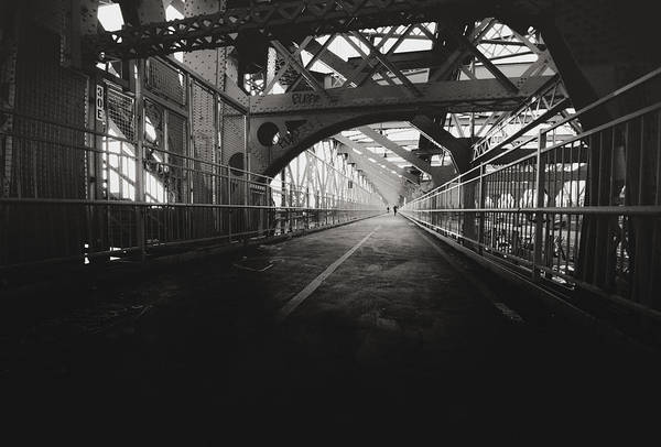 Williamsburg Photograph - Williamsburg Bridge - New York City by Vivienne Gucwa