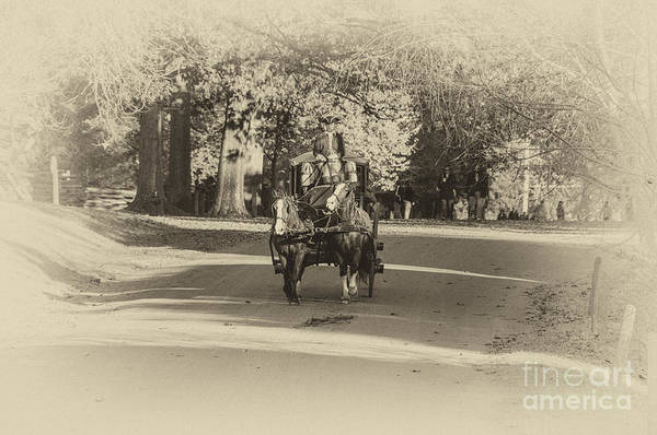 Photograph - Williamsburg Coach II by Terry Rowe