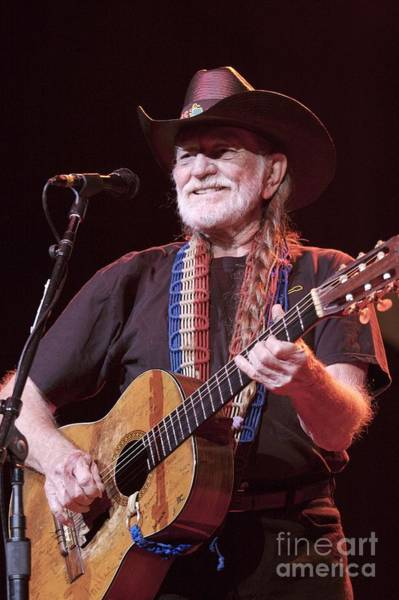 Wall Art - Photograph - Willie Nelson by Concert Photos