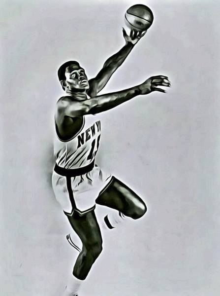 Wall Art - Painting - Willis Reed by Florian Rodarte
