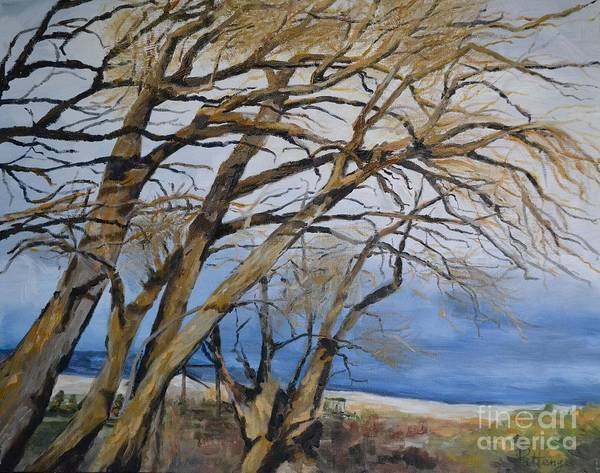 Painting - Willow Dance by Lori Pittenger