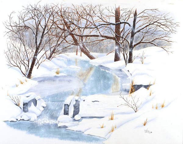 Willowood Winter Art Print