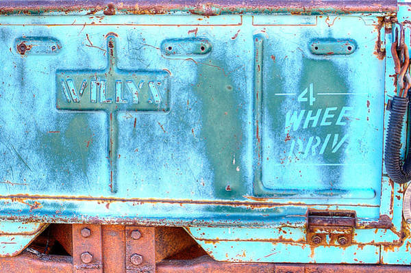 Photograph - Willys 4 Wheel Drive by HW Kateley