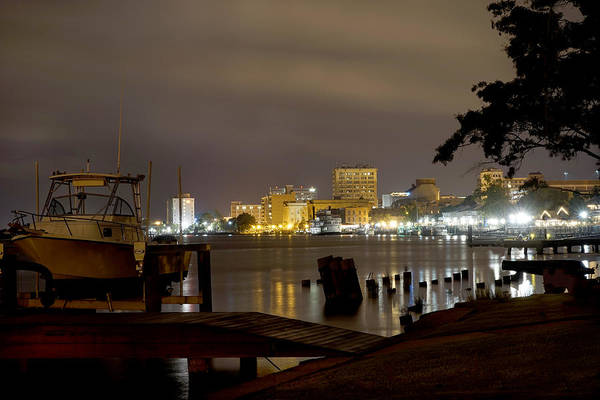 Wall Art - Photograph - Wilmington Riverfront - North Carolina by Mike McGlothlen