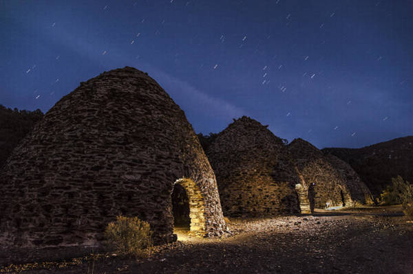 Photograph - Wilrose Charcoal Kilns by Cat Connor