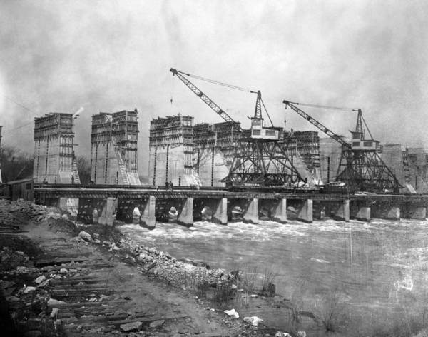 Photograph - Wilson Dam, C1922 by Granger