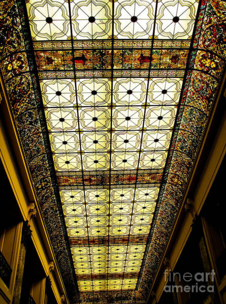 Wall Art - Photograph - Wilson Hall Ceiling by Colleen Kammerer
