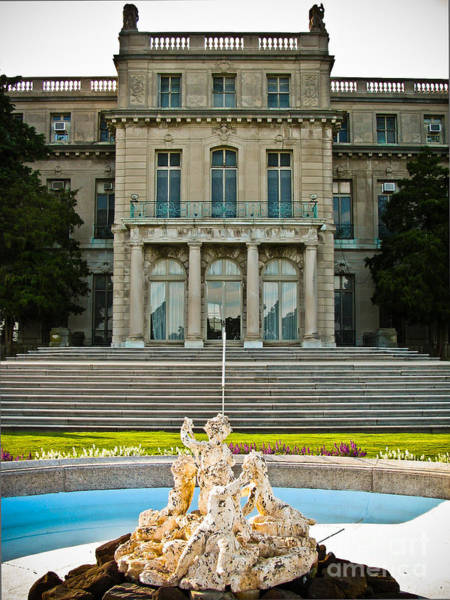 Wall Art - Photograph - Wilson Hall Fountain by Colleen Kammerer