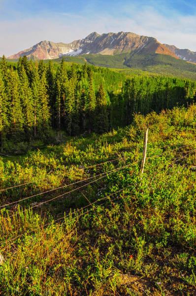 Wall Art - Photograph - Wilson Peak In Summer by Aaron Spong