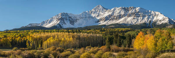 Wall Art - Photograph - Wilson Peak Panorama by Aaron Spong