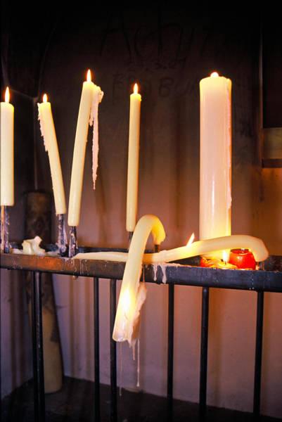 Photograph - Wilting Candles by Matt Swinden