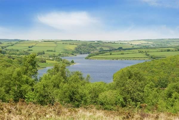 Exmoor Photograph - Wimbleball Reservoir by David Aubrey