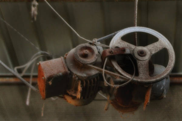 Photograph - Winch And Pulley Hoist by Doc Braham