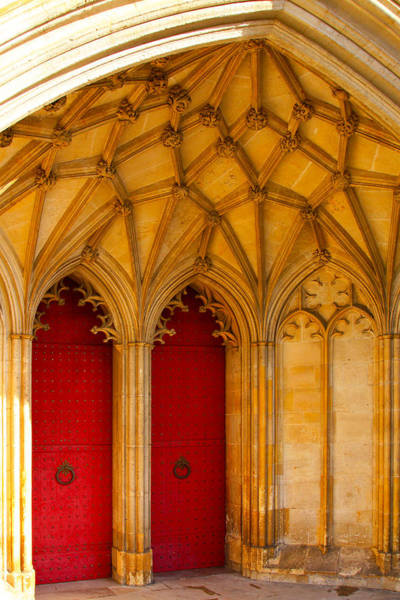Photograph - Winchester Cathedral Archway - Mike Hope by Michael Hope