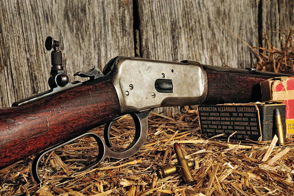 Photograph - Winchester Lever Action by John Kiss