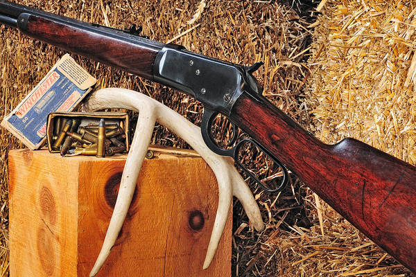 Photograph - Winchester Model 92 by John Kiss