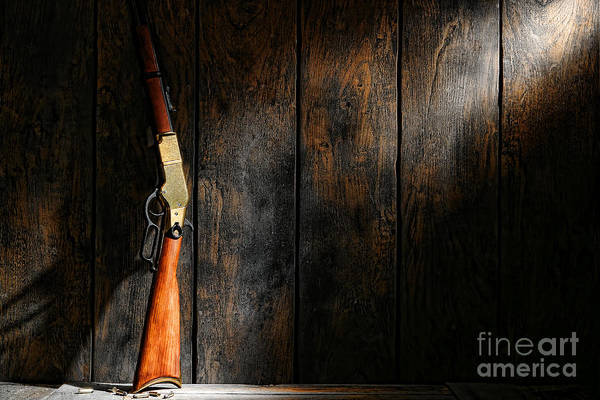 Rifles Photograph - Winchester by Olivier Le Queinec