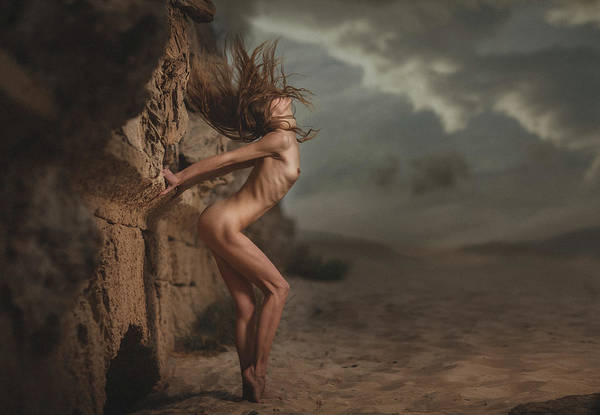 Outside Photograph - Wind by Evgeny Loza