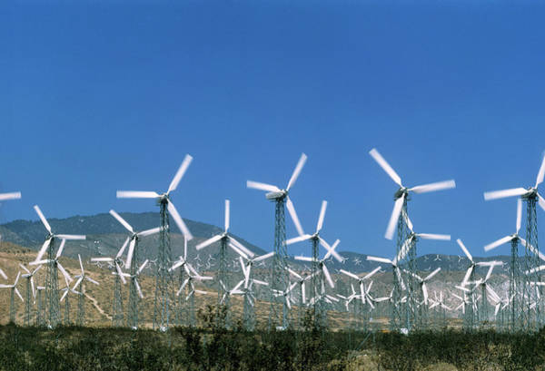Wind Farm Photograph - Wind Farm by Alex Bartel/science Photo Library