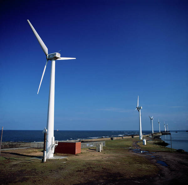 Blythe Photograph - Wind Farm by Robert Brook/science Photo Library