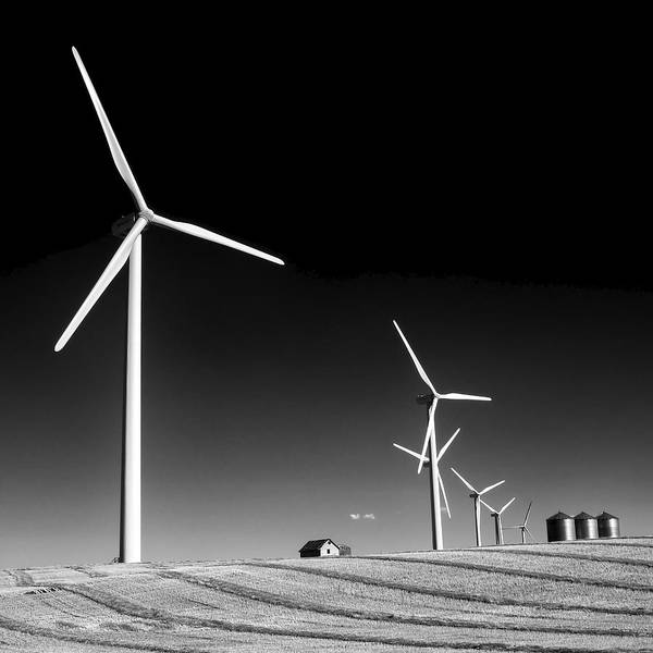 Wind Farm Art Print