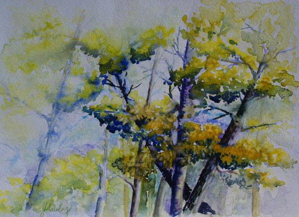 Painting - Wind In The Trees  by Joanne Smoley