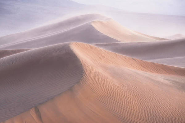 Death Valley Photograph - Wind by Inigo Cia